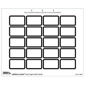 tabbies exhibits u create blank label packs. Black Bedroom Furniture Sets. Home Design Ideas
