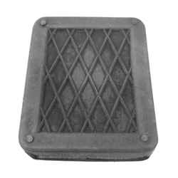 Starter pedal pad
