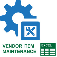 Vendor Item Maintenance