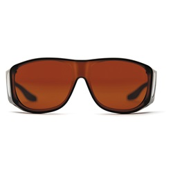 SolarShield Sunglasses - Amber