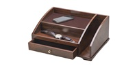 WOOD BROWN CHARGING STATION  2