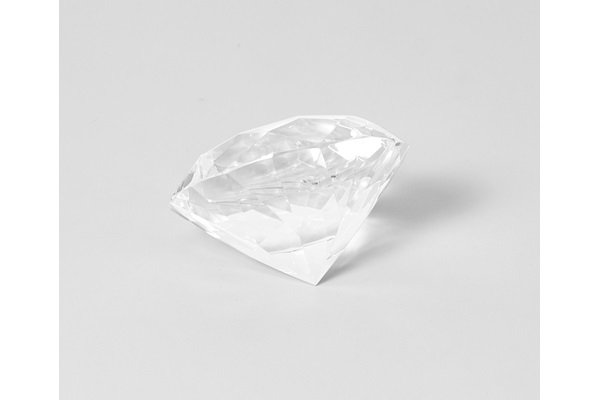 LARGE FAUX DIAMOND