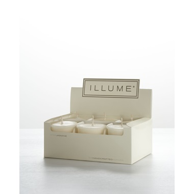 Star Jasmine 6-Pack Votive Candle Set