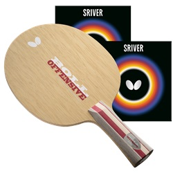Timo Boll Offensive FL Proline with Sriver