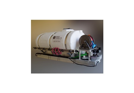 500 Gallon Elliptical Skid Sprayer with 3 Lane Boom