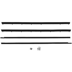 Window felt weatherstrip set