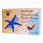 Bath Soap Flax-Orange 4.8 oz