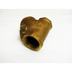 "1 - 1/2"" Brass Flapper Check Valve"