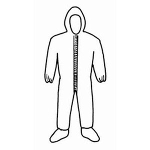 Tyvek® Coveralls with Hood and Boots