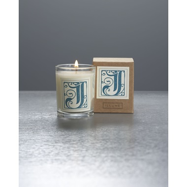 Monogram J Boxed Votive