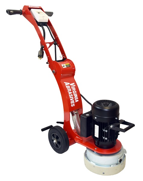 Virginia Abrasives Concrete Floor Grinder Electric