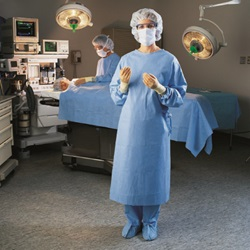 X-Large Halyard surgical gown