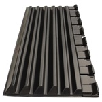 LID POLY 40 1/8 X 74 1/4 BLACK