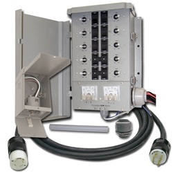 10 CIRCUIT TRANSFER SWITCH KIT