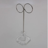 ACRYLIC METAL EAR STAND TALL