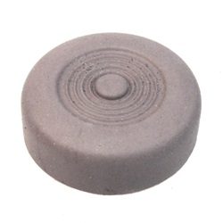 Brown starter button cover