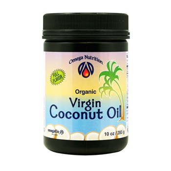 Virgin Coconut Oil 10 oz  Organic