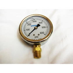 0-600 PSI Glycerin Filled Gauge