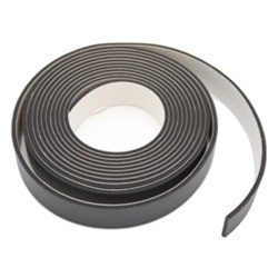 Roof rail retainer seal