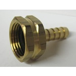 Brass Female Garden Hose Thread x Hose Barbs - Various Sizes