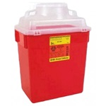 6 Gallons or more Multi-purpose Sharps Containers