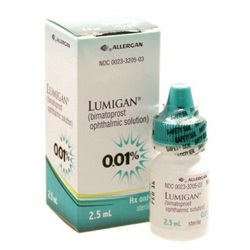 Lumigan Drops 0.01%, 2.5mL