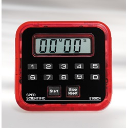 Count Up -  Count Down Timer (Sper Scientific 810024R)