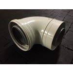 VENT PIPE DW ELBOW 90  80/125