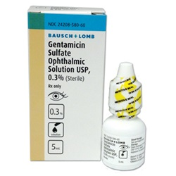 Gentamicin Drops 0.3%, 5mL
