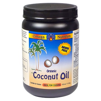 Coconut Oil 53 Oz. Organic