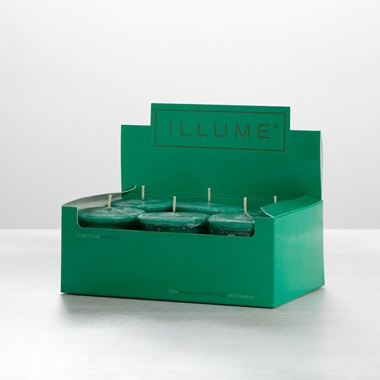 Cactus Verde 6-Pack Votive Candle Set