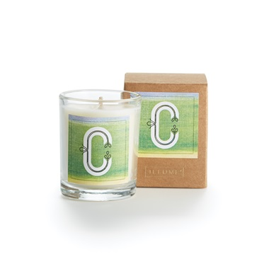 Monogram C Boxed Votive