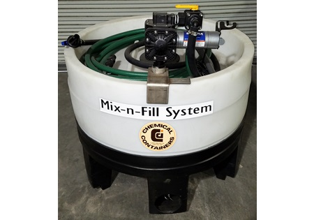 110 Gallon Mix N Fill System-CCI