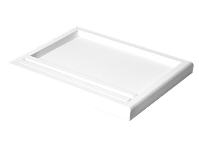 PRESENTATION TRAY W/RING SLOT