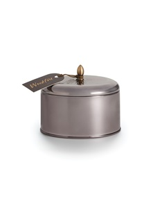 Woodfire Metallic Knob Tin