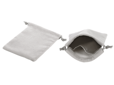 LARGE DRAWSTRING POUCH DIVIDED