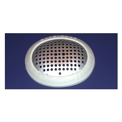 Pinhole metal surgical eye shield with cover