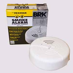 Battery Operated Smoke Alarms