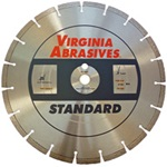 Walk Behind Saw Blades Laser Welded Segments for Wet Cutting - Concrete - Standard
