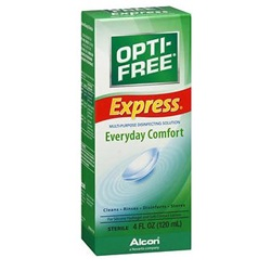 Opti-Free Express Contact Lens Solution, 4 oz.