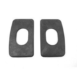 Windshield stanchion base pad