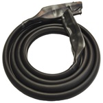 Rear bow weatherstrip