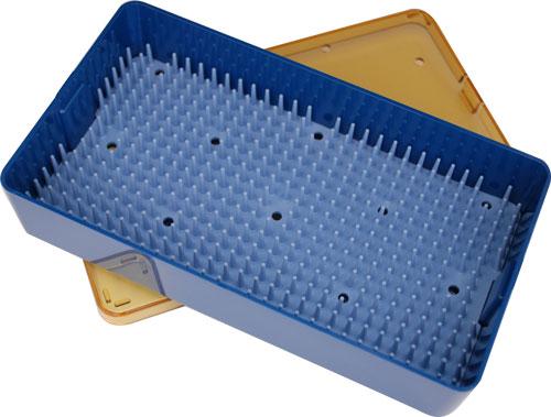 Plastic Microsurgical Instrument Sterilization Tray Sterilization
