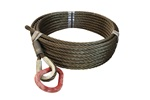 WIRE ROPE 5/8 X 63 W/PEAR