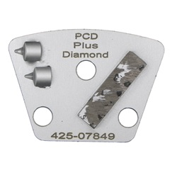 PCD+Diamond Trapezoid