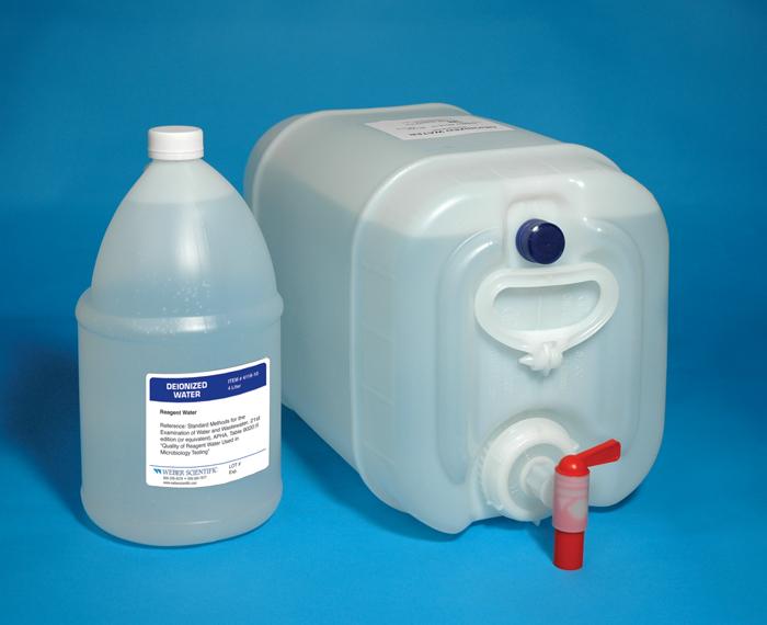 Deionized Water Resistivity Meter : Deionized water