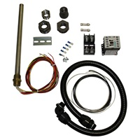 "Universal Compaction Oil Heater Kit 500W, 208/230V & 60"" Wiring Kit"