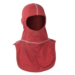 PAC II Nomex Blend Firefighting Hood, color RED