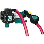 115V Sotera Diaphragm Chemical Transfer Pump With Meter