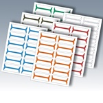 Acme Abgor Compatible Wrap-Around File Folder Labels